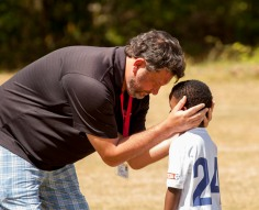 Coach John & Kieran Soccer 2-26