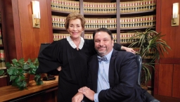 John Phillips with Judge Judy