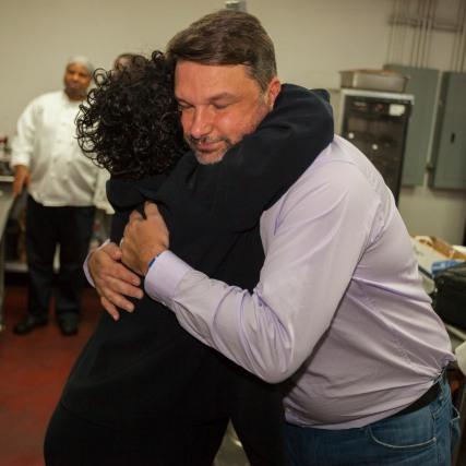 Ju'Coby & John Hug