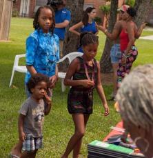 Kids at Eureka Gardens